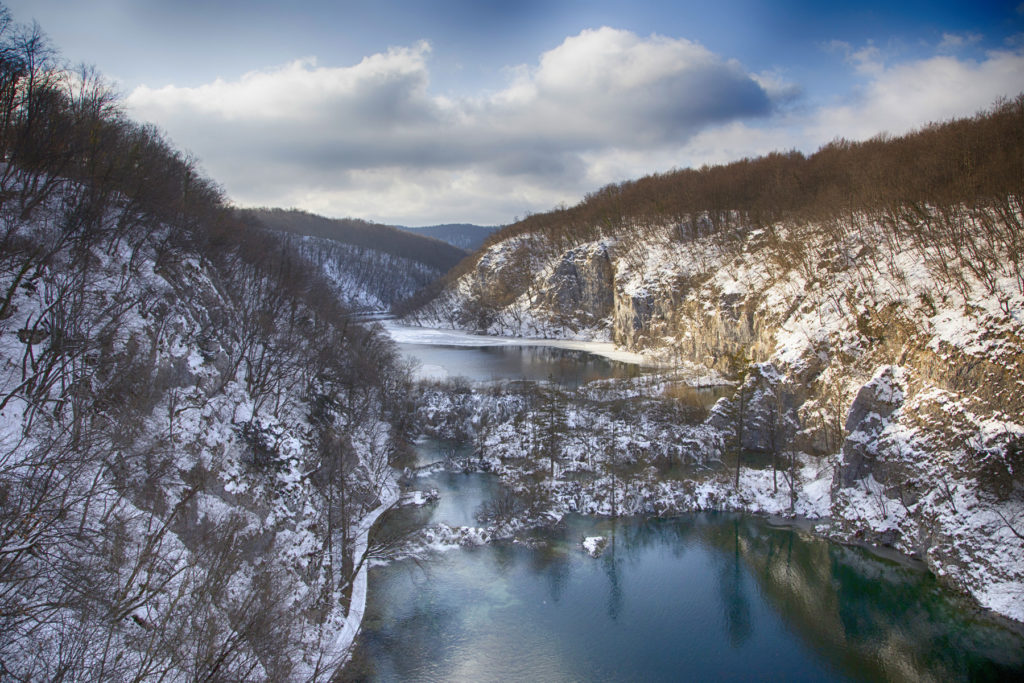 Plitvice lakes – winter highlights