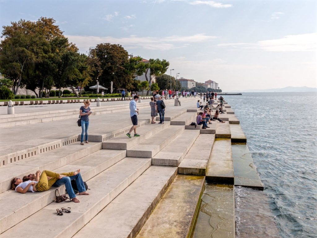 The sound of the the sea – The Sea Organ by Nikola Bašić