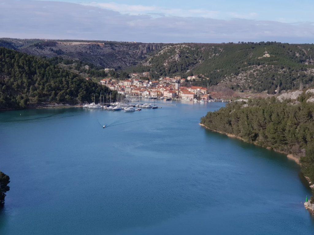 Skradin -where the Krka river kisses the Adriatic sea