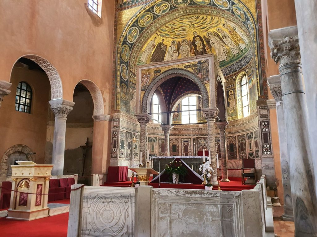 Euphrasian Basilica in Poreč, Croatia, photo by Croatian Attractions