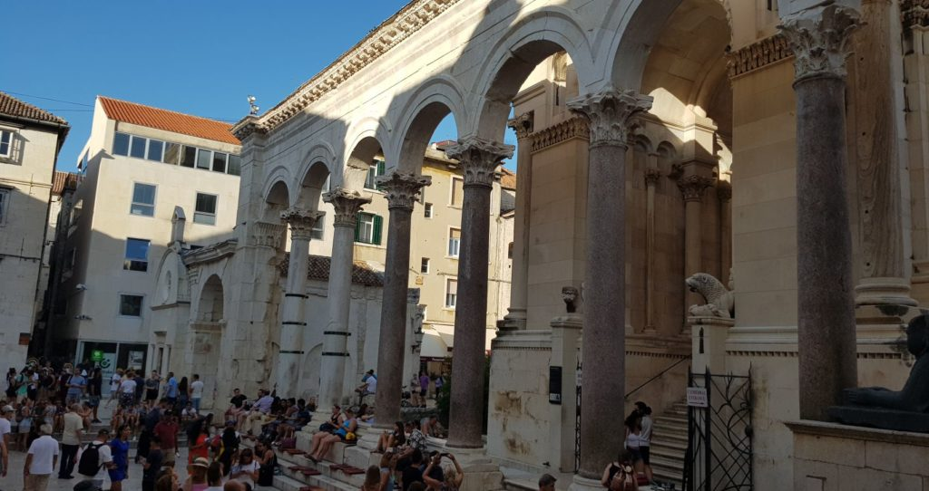 DIOCLETIAN'S PALACE IN DALMATIA