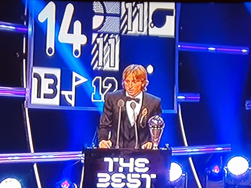 The best football player in the world – Luka Modrić!