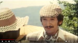 Mr. Fulir, scene from the most famous film in Croatia, Tko pjeva zlo ne misli, directed by Krešo Golik