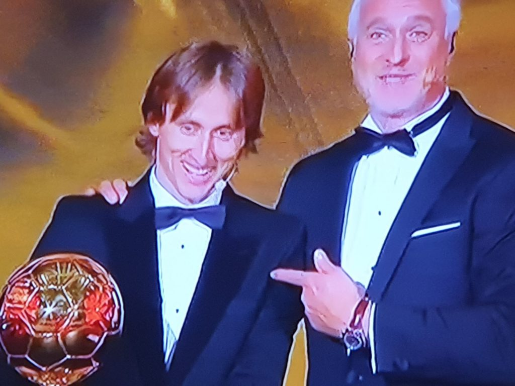 Luka Modrić – the first Croatian player who wins the 2018 Ballon d'Or