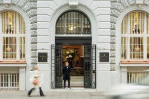 ZAGREB-Capital Amadria Park hotel -entrance, photo credit by Amadria