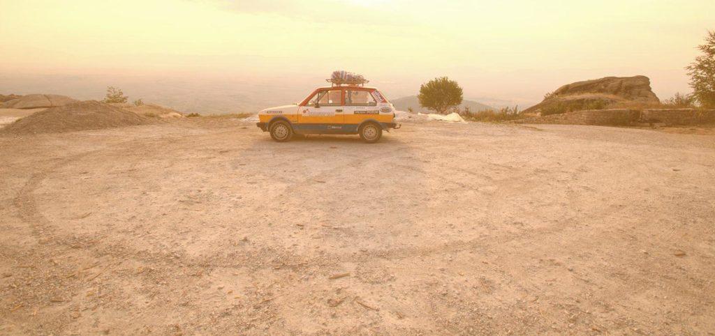 Driving Yugo across Balkan roads is great fun!!