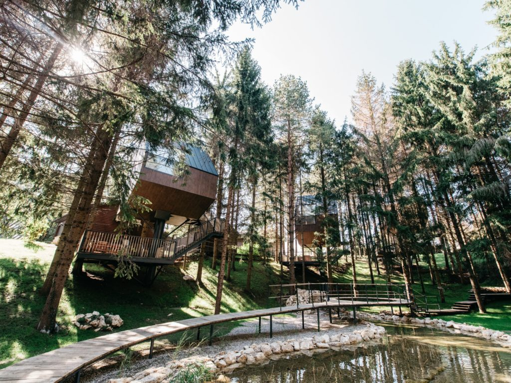 The Tree house holiday – daydream at Plitvice Holiday Resort