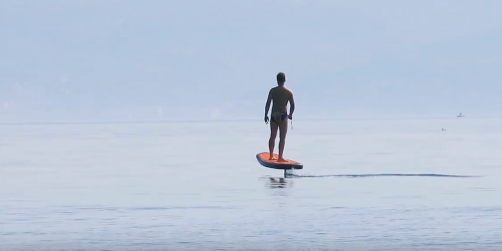 Plurato Sailfin, the first Croatian electric surfboard