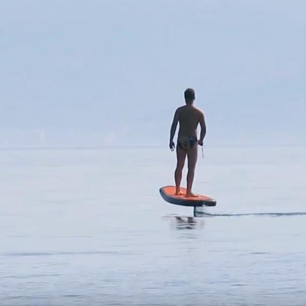 Plurato Sailfin the first Croatian electric surfboard, Croatia photo by Plurato Sailfin