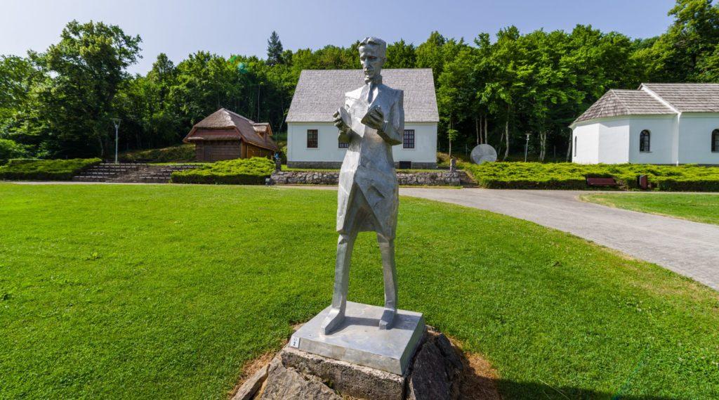 Memorial center Nikola Tesla, Smiljan, Lika, Croatia