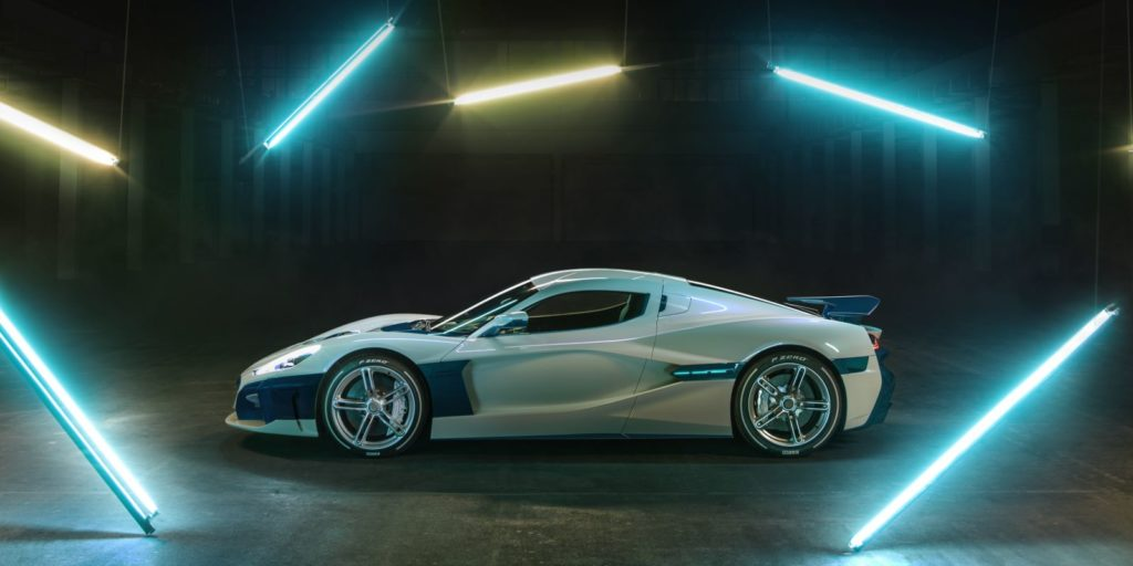 Rimac C_Two electric hypercar strikes again