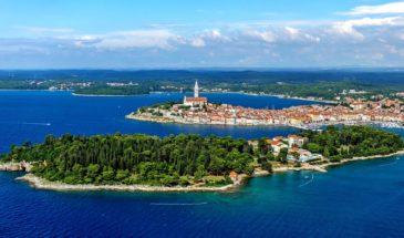 Katarina Island, in front of Rovinj, Croatia, photo credit by Maistra