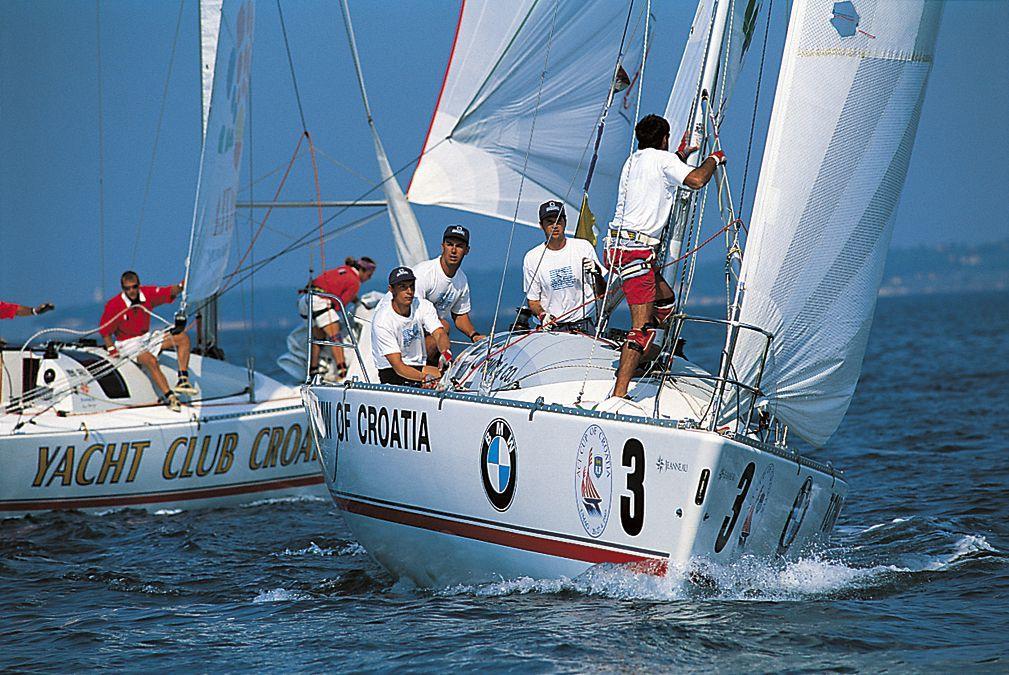 World Sailing Elites Arrive in Rovinj