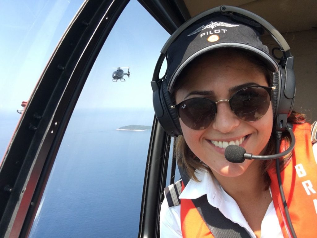Helicopter captain or Laura c'e Croatia Amore