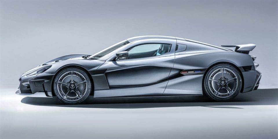Mate Rimac presented the fastest car in existence!