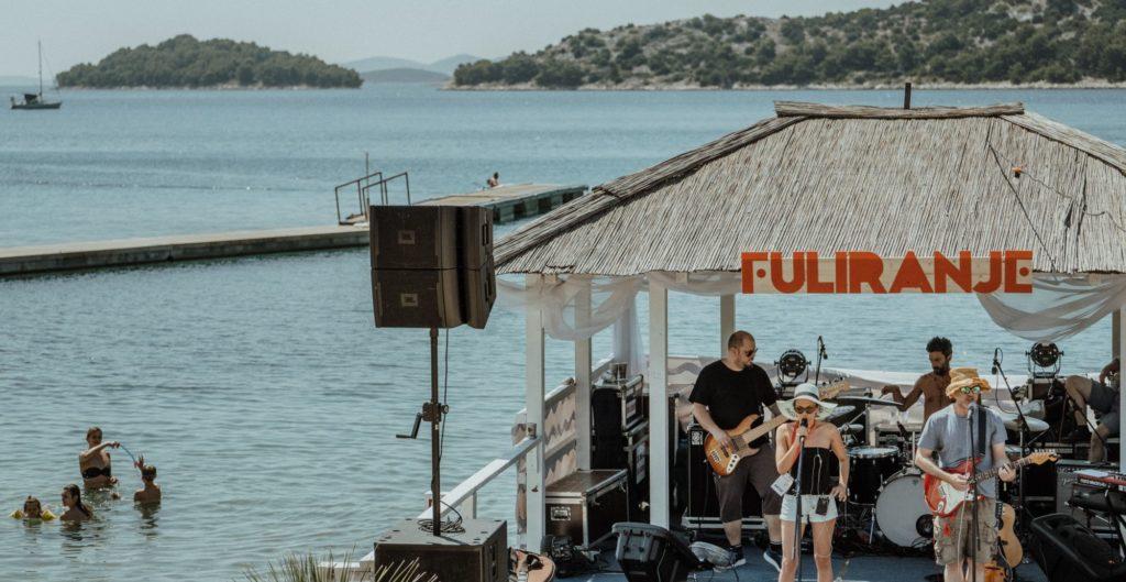The new  Croatian festival Fuliranje na moru at The Garden Resort in Tisno