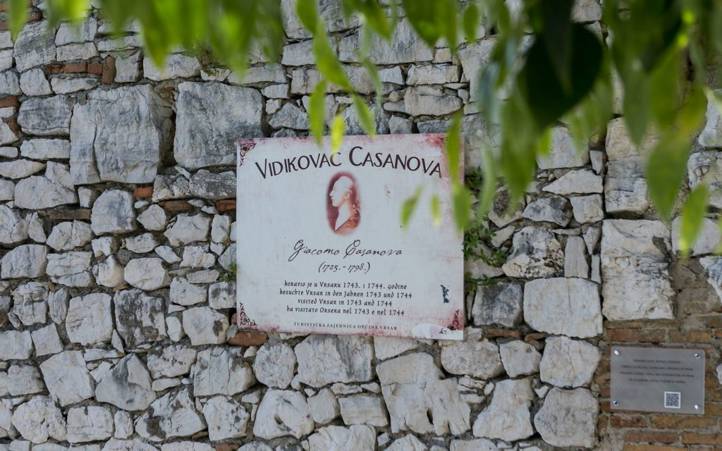 The Famous lover Casanova loved Istria and Vrsar