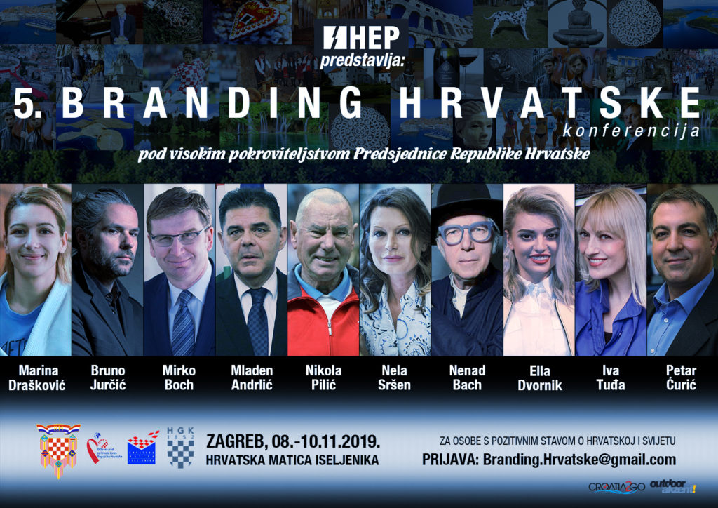 Branding of the nation as the central theme of probably the best conference in Croatia in the last two decades