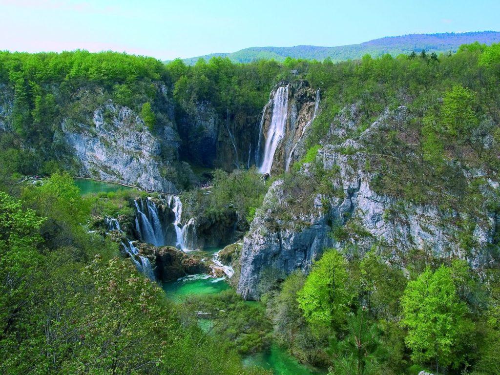 Sastavci & Veliki Slap, photo credit by archives of NP Plitvice Lakes