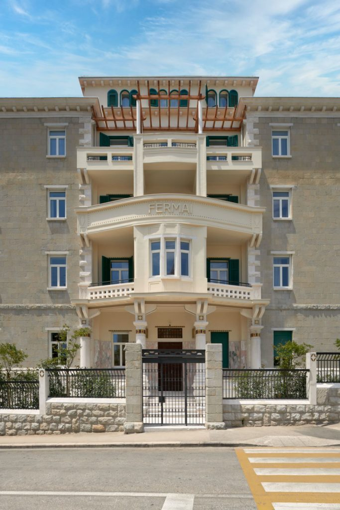 Fermai hotel, FRONT VIEW, Split, Croatia, photo by Fermai