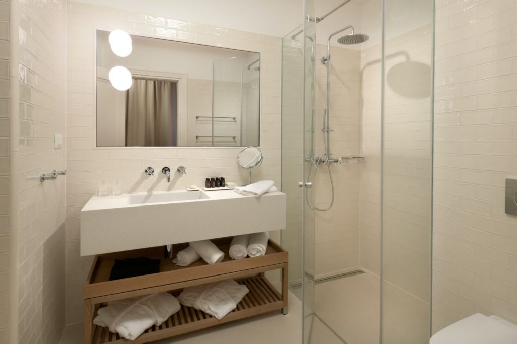 Fermai hotel, Split, Croatia, bathroom, photo credit by Fermai hotel