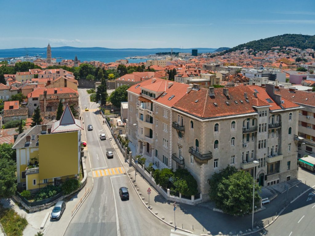 VIEW LOCATION CITY, FERMAI hotel, Split, Croatia, photo credit by Fermai