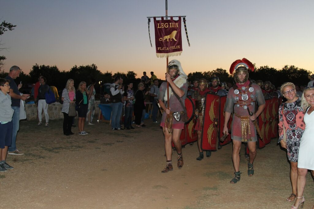 Burnum Idas, Roman legions, NP Krka, Croatia, photo credit by NP Krka