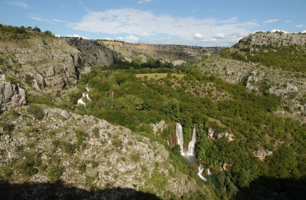 Manojlovac waterfall, NP Krka, Croatia, photo credit by NP Krka