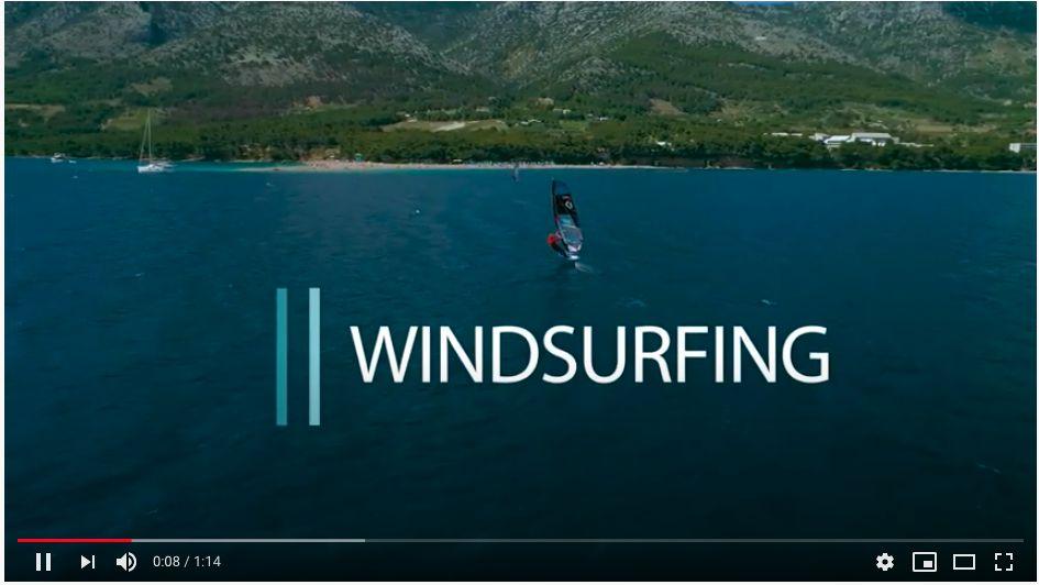 Windsurfing on Bol