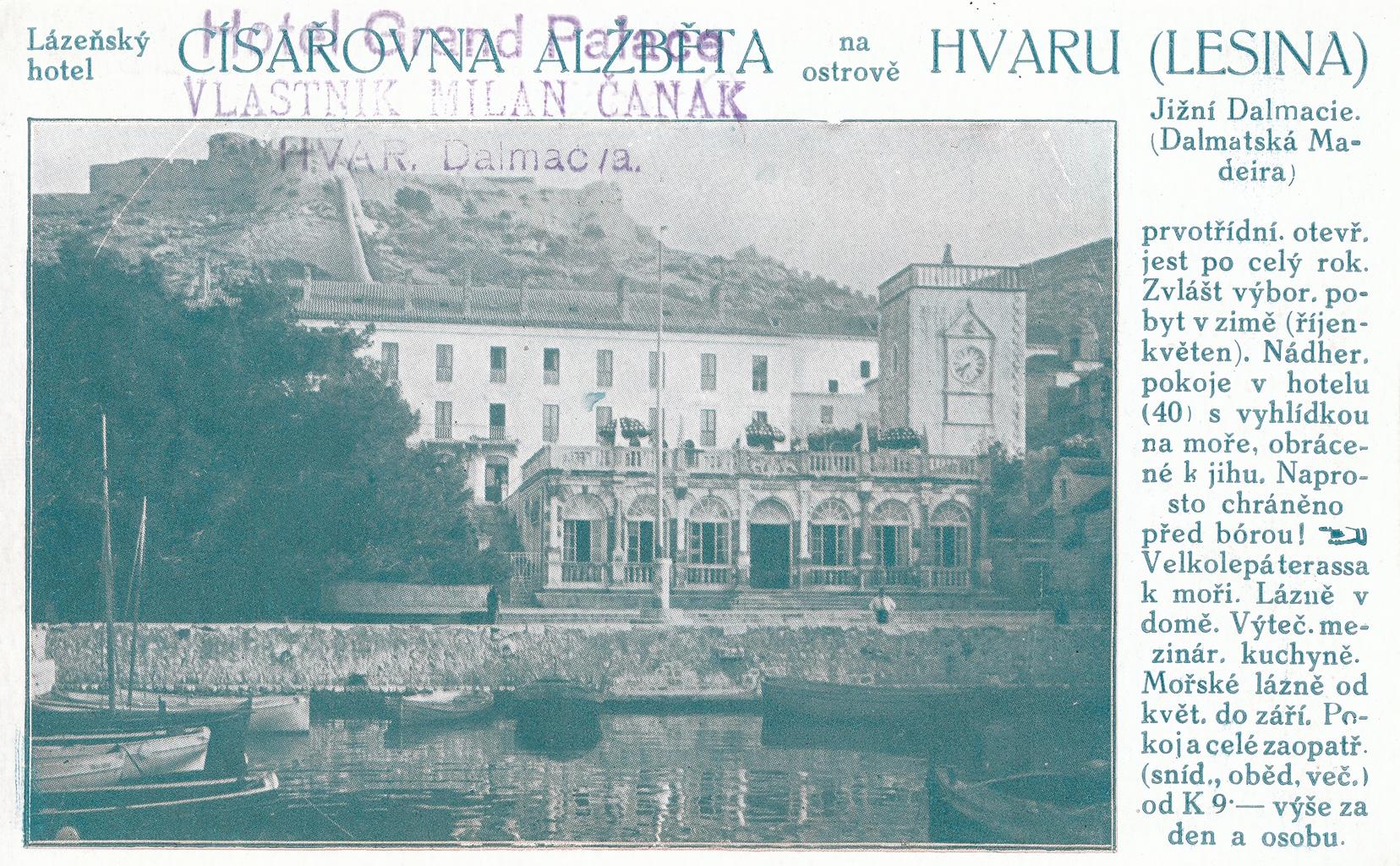 Grand Hotel Palace, Hvar, Croatia, photo credit by Siniša Matković-Mikulčić, Secret Hvar agency