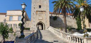 Main city gate, Korčula, Croatia, photo by www.croatia2go