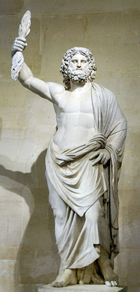 Zeus de Smyrne, Louvre Museum : Public domain, https:upload.wikimedia.org:wikipedia:commons:c:c8: