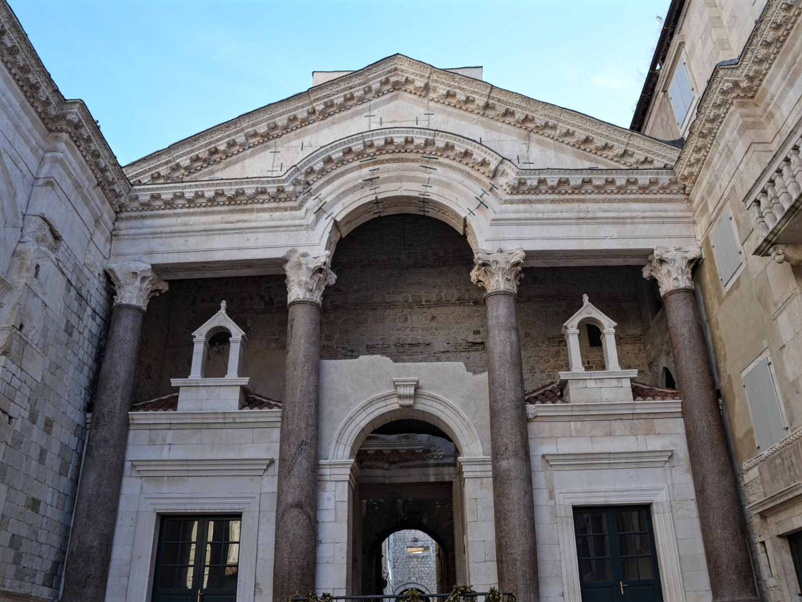 famous diocletian u2019s palace in split