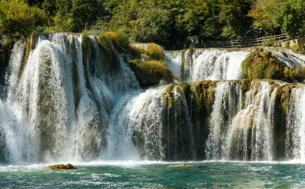 Krka River is a natural and karst phenomenon