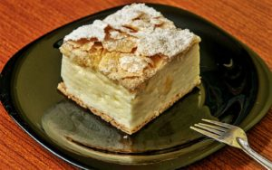 Kremšnita, famous cake photo by Croatian Attractions