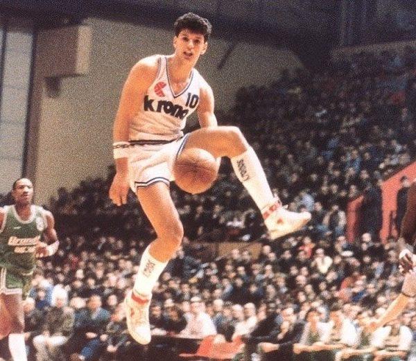 DRAŽEN-PETROVIĆ famous Croatian Basketball player