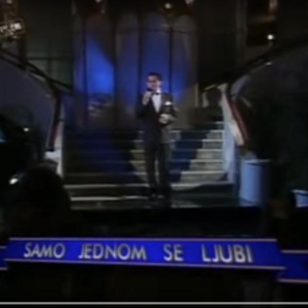 Samo-jednom-se-ljubi, Ivo-Robić, famous Croatian singer