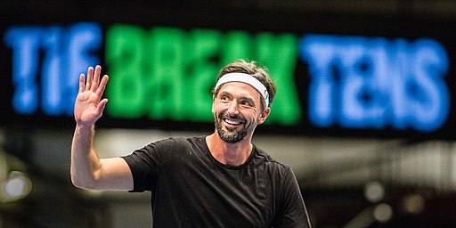 Goran Ivanisevic has entered the International Tennis Hall of Fame
