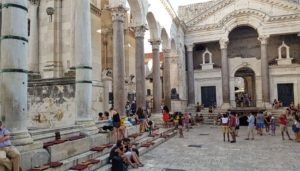 Diocletian-Palace, Split, Croatia photo credit by Croatian-Attractions