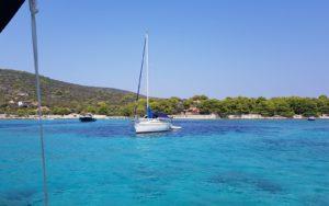 Sailing-Blue-lagoon, Dalmatia, Croatia photo by Croatian-attractions