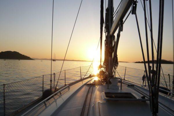 Adriatic sea, Croatia, photo credit by Balkan Yacht Adventure