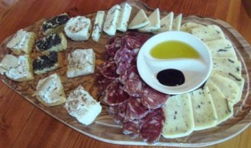 Cold appetizer, Truffles, salami and chhese with Truffles, Istria, Croatia photo credit by Croatian Attractions