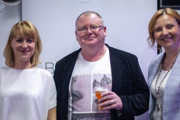 Natalia Zielinska, Paul Bradbury and Kristina Ercegović photo by Business Caffe