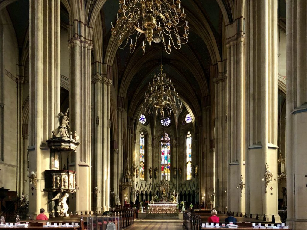 Zagreb Cathedral Is Decorated With Chandeliers That Once Adorned A Casino In Las Vegas Go To Croatia