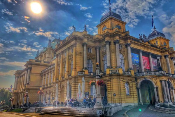 National Theatre, Zagreb, Photo by M. Švarc