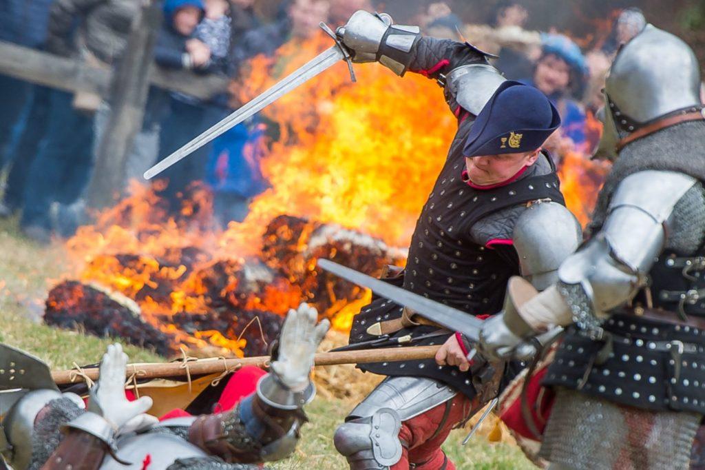 The medieval battle of Samobor