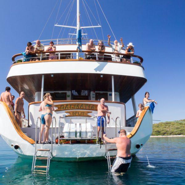 Katarina Line cruise, Croatia