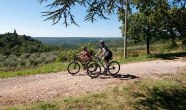 Parenzana bike adventure, Istria, Croatia