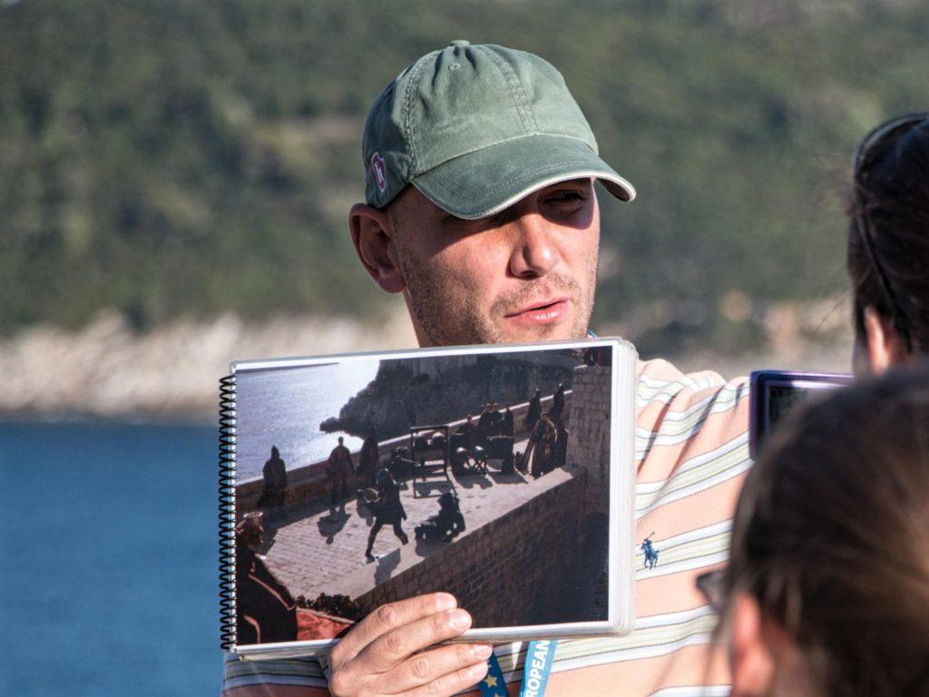 Ivan Vuković Vuka on tour, The Game of Thrones, Dubrovnik, Croatia, photo credit by Ivan Vuković Vuka