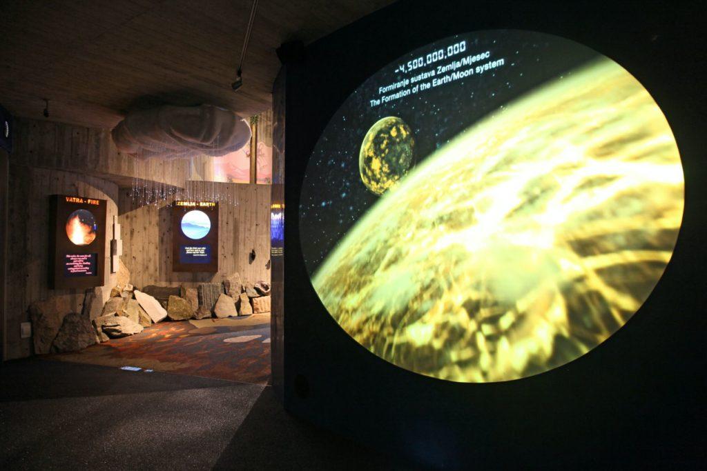 Krapina Neanderthal Museum photo by Damir Fabijanic